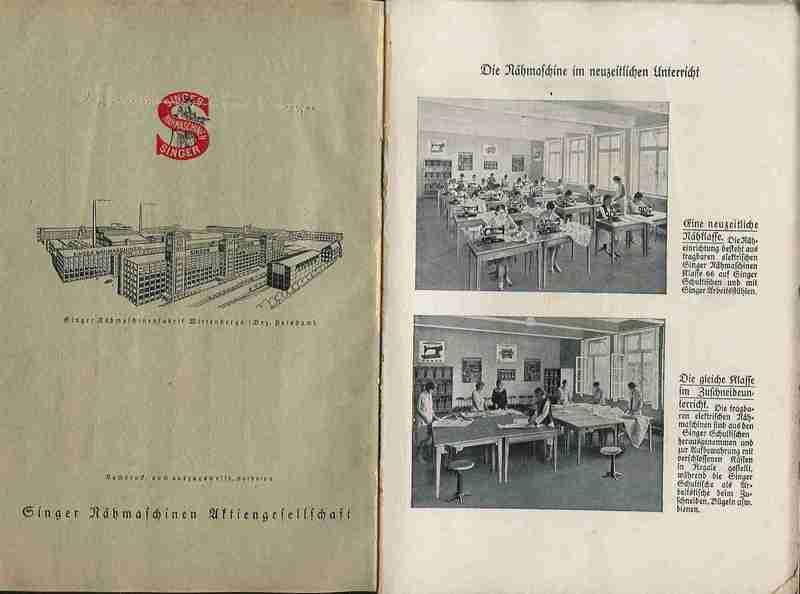 Das Maschinennähen in der Schule. 2. Teil. Praktische Arbeiten von ...