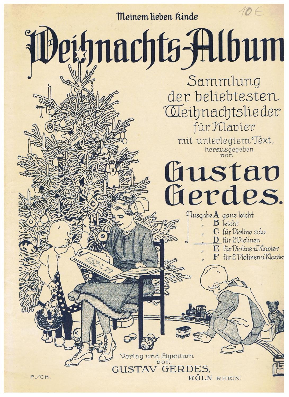 Weihnachtslieder Texte Sammlung.Weihnachts Album Von Gustav Gerdes Zvab
