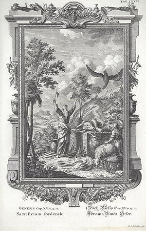 BibeI. I.Buch Mosis Cap. XV. v. 9.11.: Scheuchzer, Johann Jakob