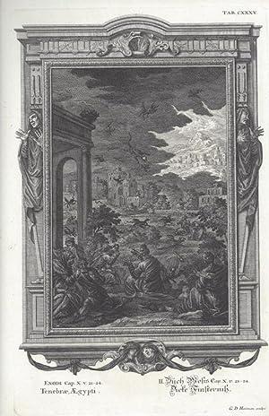 BibeI. II.Buch Mosis Cap. X. v. 21: Scheuchzer, Johann Jakob