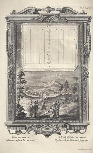 BibeI. II.Buch Mosis Cap. XXVI. V. 1.: Scheuchzer, Johann Jakob