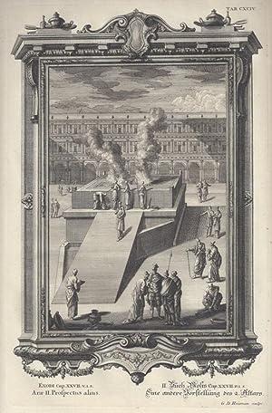 BibeI. II.Buch Mosis Cap. XXVII. V. 1.: Scheuchzer, Johann Jakob