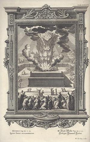 BibeI. III. Buch Mosis Cap. IX. v.: Scheuchzer, Johann Jakob