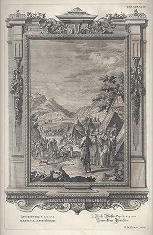 BibeI. III. Buch Mosis Cap. X. v.: Scheuchzer, Johann Jakob