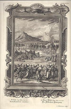 BibeI. IV. Buch Mosis Cap. XVI. v.: Scheuchzer, Johann Jakob