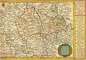Die Ämter Grimma und Mutschen zu dem Leipziger Creisse ( Kreis ) gehörig, verfertigt von Joh. Georg...