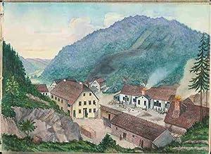 Skizzenbuch. Originale: Abbildungen u.a. von Villa Giraud,: Schmidt, Kunstmaler