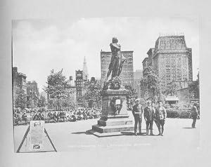 park, Union square, Metropolitian life,Pennsylvania depot, Herald,: Amerika - Atelier