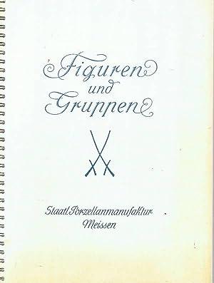 Figuren und Gruppen aus den Jahren 1919: Porzellan Meissen.