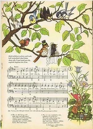 Die Hochzeit im Walde. Ein Bilderbuch mit: Ulbrich, Hans /