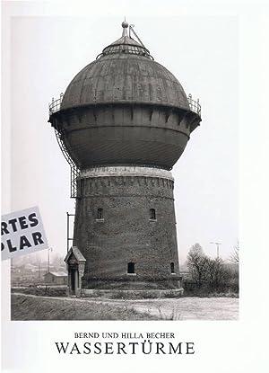 Wassertürme. Signiertes Exemplar ! Mit handschriftlicher Unterschrift: BECHER, Bern und