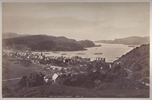 2 Abbildungen: Oban and Sound of Kerarra (Kerrera) und Shepherds Hat and Sound ofMull. Oban. Moon...