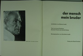 Der Mensch - Mein Bruder. Lichtbilder von: LERSKI, HELMAR.