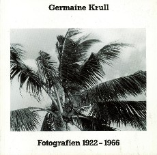 Fotografien 1922 - 1966. Einführung von Klaus: KRULL, GERMAINE.