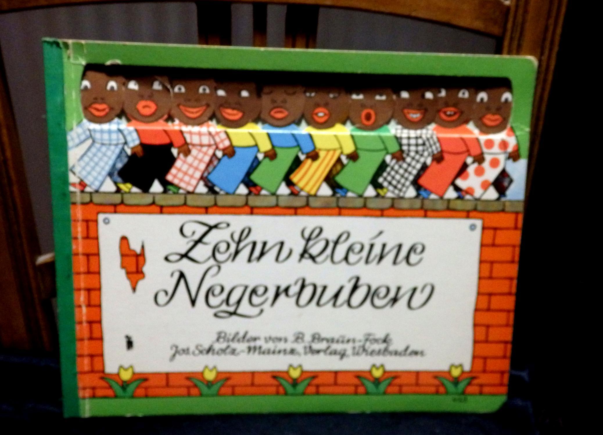 Zehn kleine Negerbuben.: Braun - Fock,
