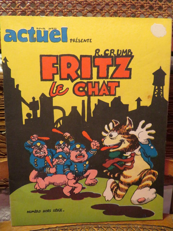 Fritz le chat. Numéro hors-série.: Crumb, Robert