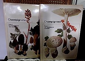 Champignons en deux volumes : Tome 1.: Schlittler Jakob &