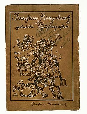 Die gebatikte Schusterpastete. (Mit Titelzeichnung von Rudolf: Ringelnatz, Joachim, Schriftsteller