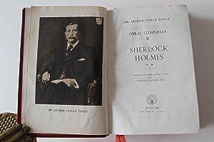 Obras Completas II Sherlok Holmes. Traducción del: Arthur Conan Doyle