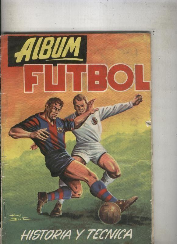 Album de Cromos: Futbol Historia y Tecnica Hnos Badia