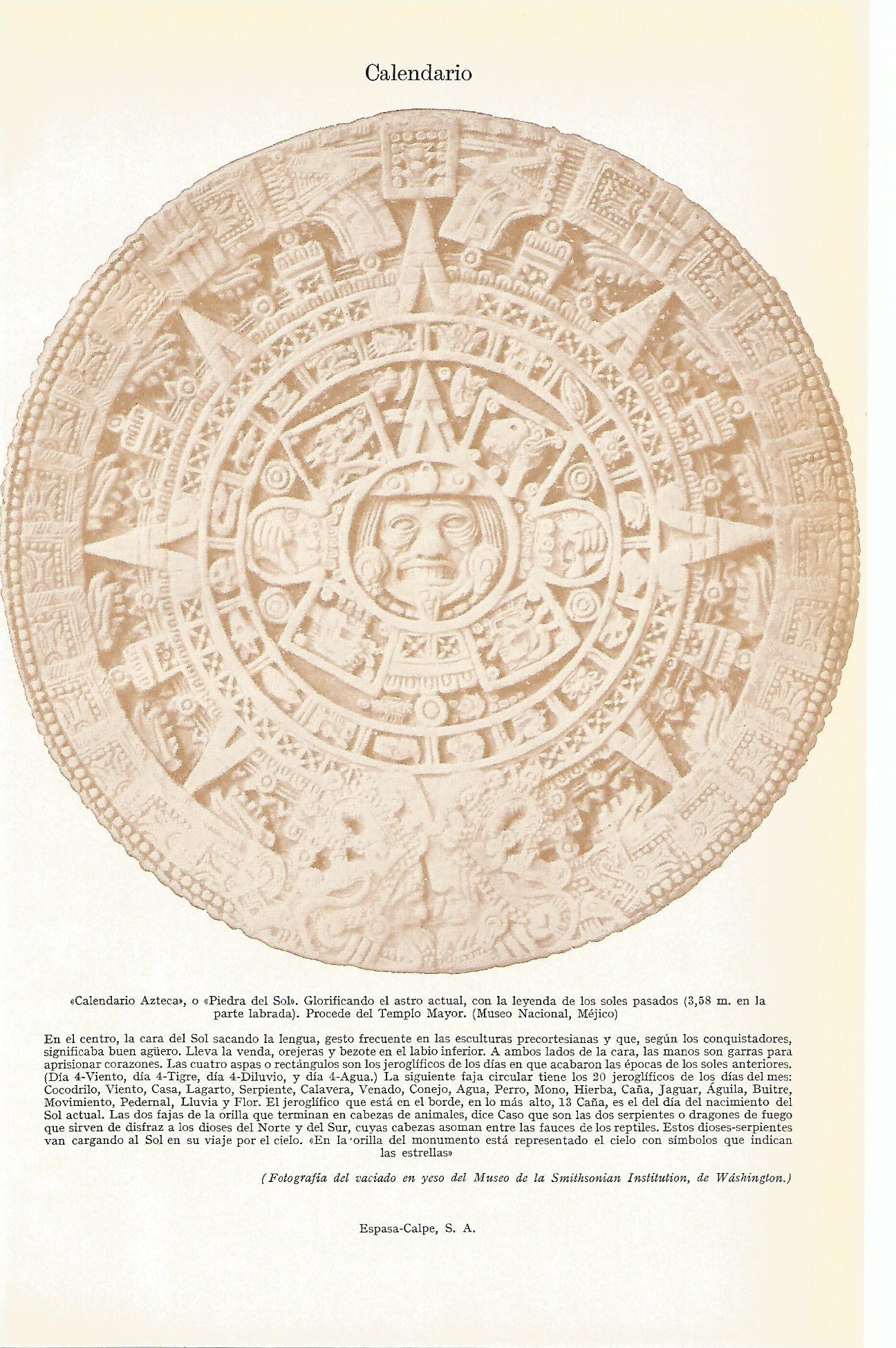 Calendario Azteca - AbeBooks