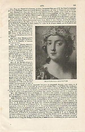 LAMINA ESPASA 12896: Asia por Rosalba Carriera: Varios