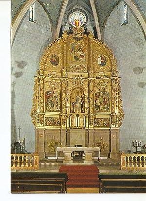 Postal 029241 : Llivia, iglesia Parroquial. Retablo: Varios