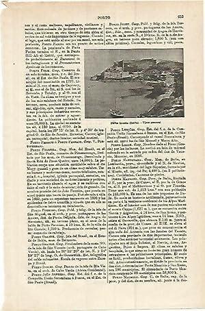 LAMINA ESPASA 15307: Porto Ercole Italia: Varios