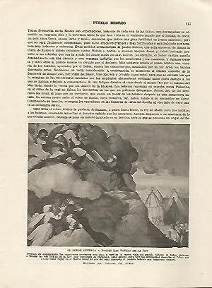 LAMINA 5084: La entrega a Moises de: Guillermo de Boladeres