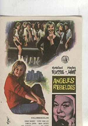Programas de Cine: Angeles rebeldes