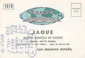 Postal 61288 : Revista informativa de ajedrez.: Varios