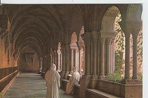 Postal 6676: Monasterio Poblet, claustro: Varios
