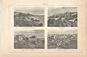 LAMINA ESPASA 9011: Vistas de Larache Marruecos: Varios