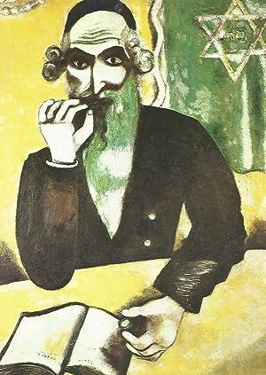 Lamina 127: Marc Chagall: El rabino: VV.AA.