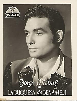 FOTOCROMO 083: Jorge Mistral en La Duquesa: Varios