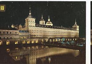 Postal 046703 : El Escorial. Vista del: Varios