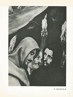 LAMINA 1989: EL GRECO. Entierro del Conde: Harold E. Wethey