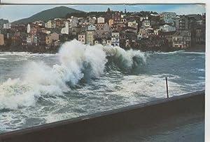 Postal 009426: Galicia: rompeolas en la costa: Varios