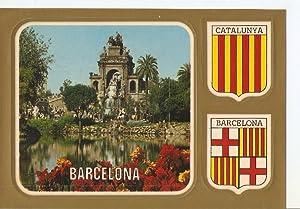 Postal 049908 : Barcelona. Cascada del parc: Varios