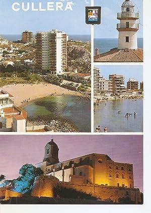 Postal 050023 : Cullera (Valencia). Playa Rompeolas: Varios