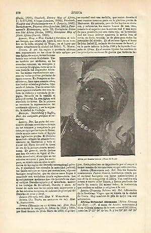 LAMINA ESPASA 12591: Africa por Rosalba Carriera: Varios