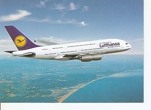 Postal 024238 : Lufthansa am Start: Airbus: Varios
