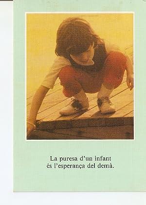 Postal 029786 : La puresa dun infant: Varios