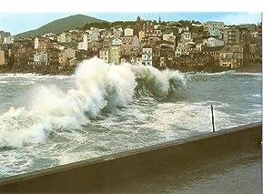 Postal 032285 : Galicia. Rompeolas en la: Varios