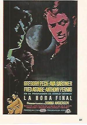 CROMO CINE 1837: LA HORA FINAL: Varios