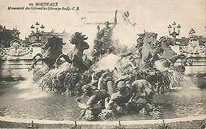 Postal 50474: BURDEOS - Monumento de los: Varios