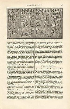 LAMINA ESPASA 16894: El Roman de la: Varios