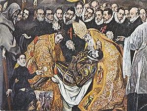 Postal 61712 : El Greco. Entierro del: Varios