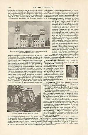 LAMINA ESPASA 17700: Proyectos de Martin S.Noel: Varios
