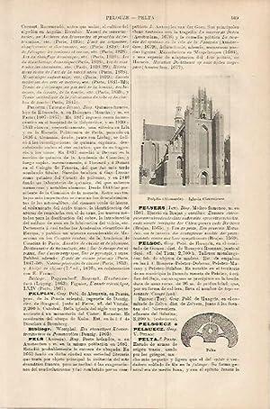 LAMINA ESPASA 17943: Iglesia de Pelplin Alemania: Varios